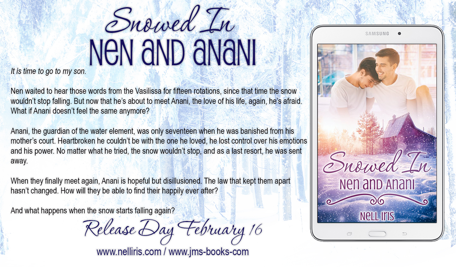 snowed in blurb releaseday 2