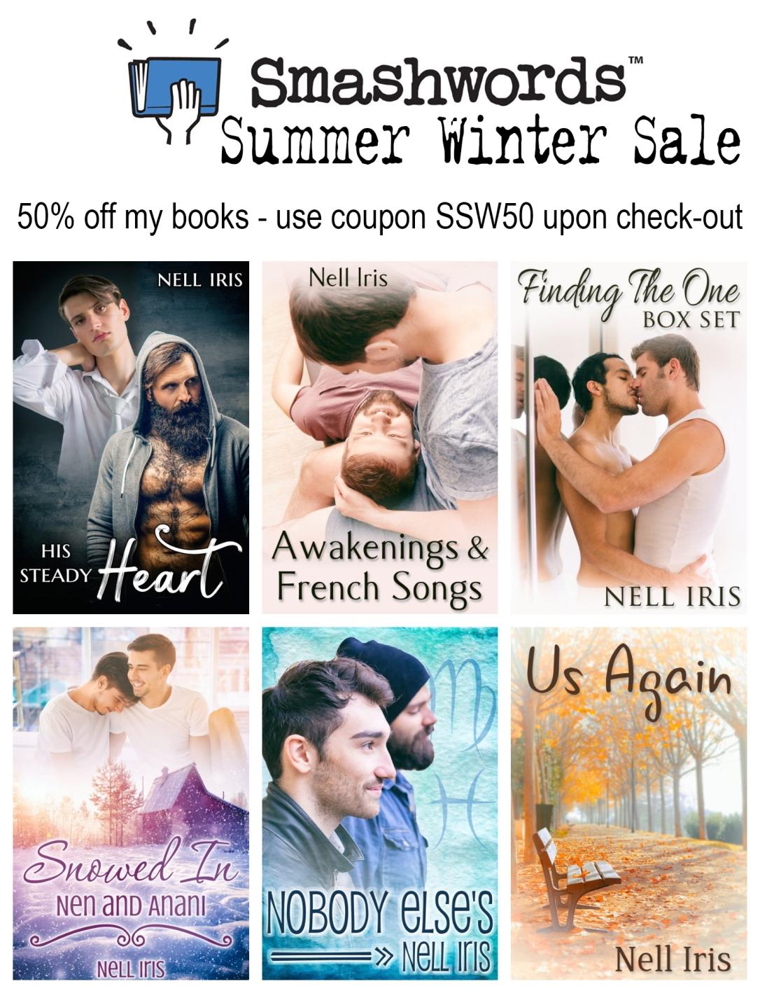 smashwords summer winter sale 2019
