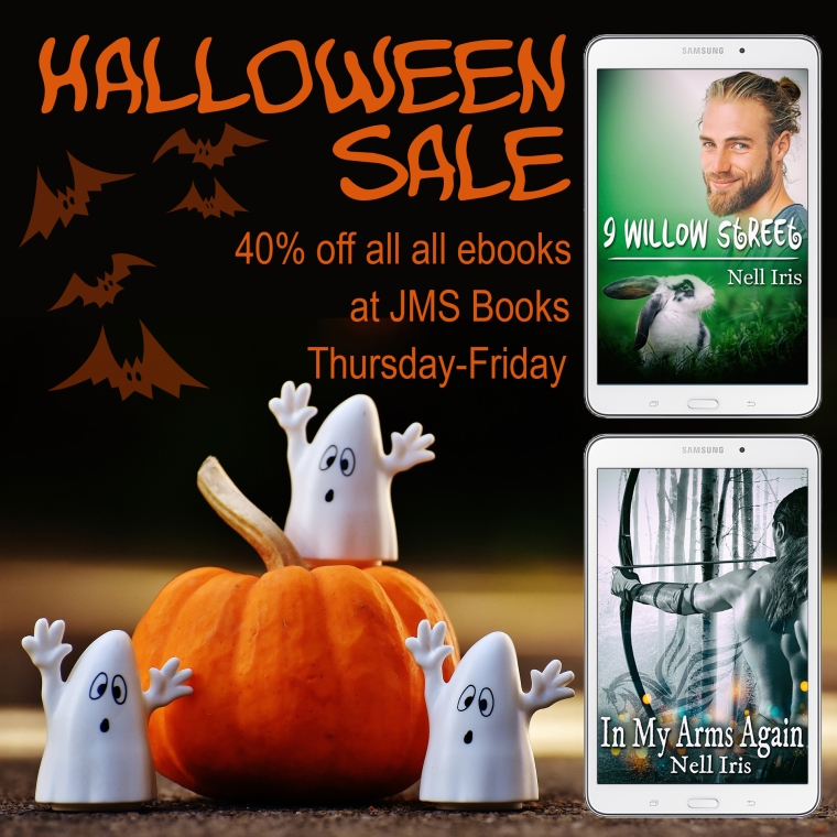 halloween sale at JMS Books