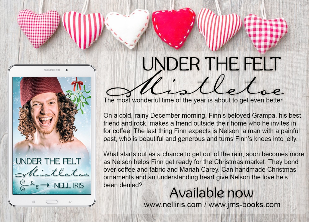 mistletoe with blurb available now