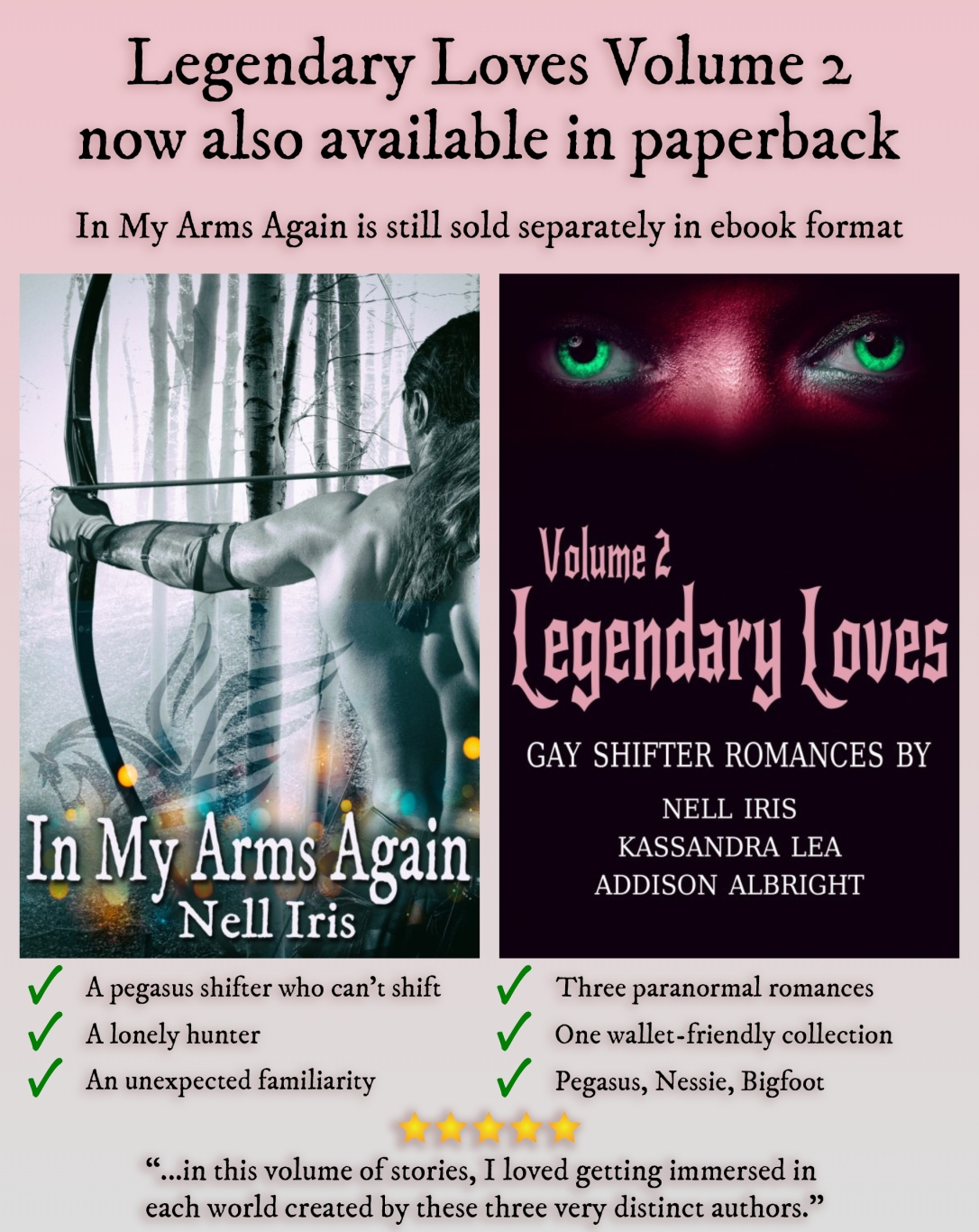imaa + ll v2 checkmark review quote also in paperback