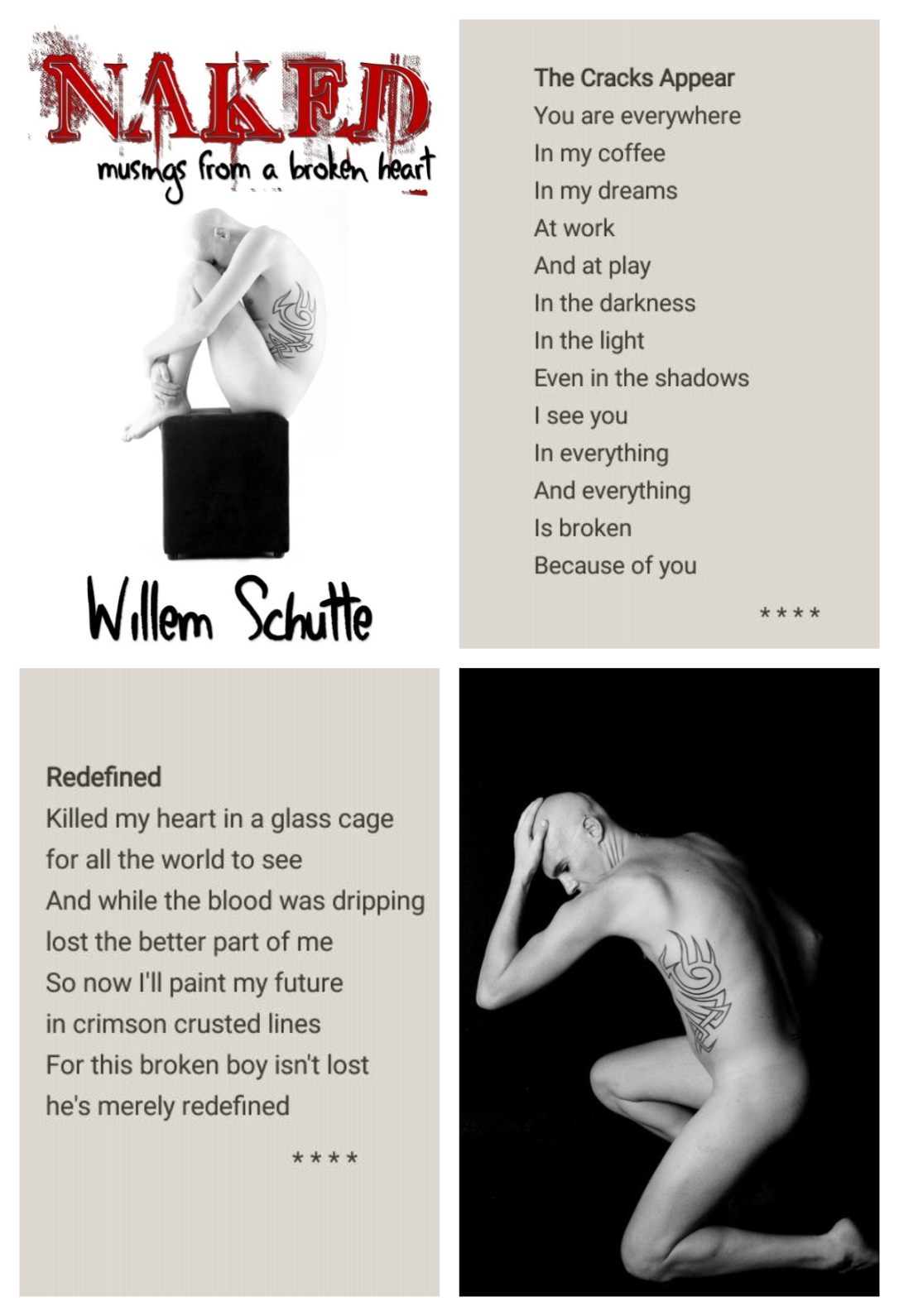 Naked Willem Schutte